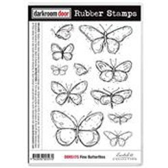 Fine Butterflies stamp - Darkroom Door