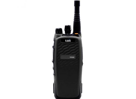 DMR Tier 3 UHF1 No Key V2 Port Blk c/w 380-470M Whip Ant, 2900mAh Bat + B/Clp