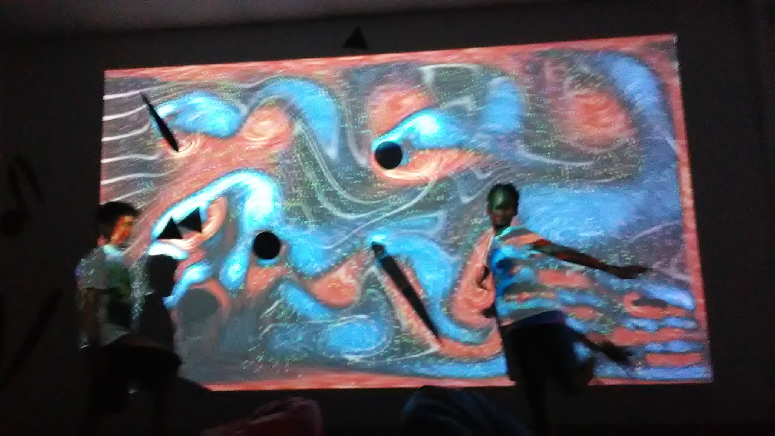 Interactive Flow Projection