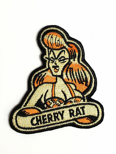 Cherry Rat Bop Patch
