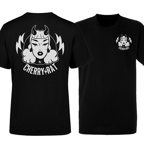 Cherry Rat Devil - (B&W) Men's T-shirt