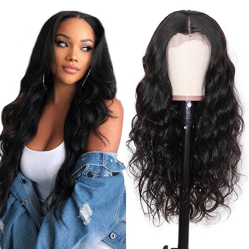 """Goddess Collection - Body wave """"Transparent lace Wig"""""""