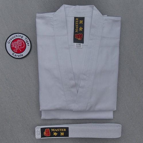 Karate Suit with CTK Badge