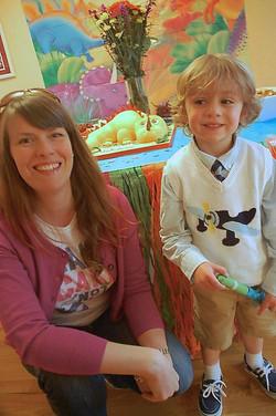 Photo taken with the birthday boy!