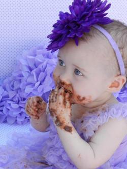 Chocolate smash cake!