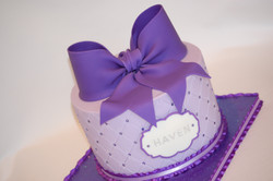 Quilted Diamonds Cake