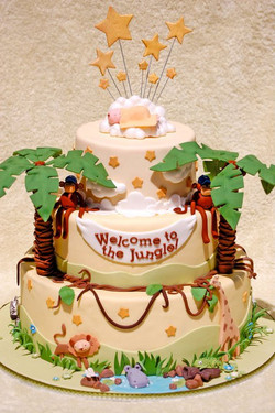 Welcome to the Jungle Baby Shower Ca