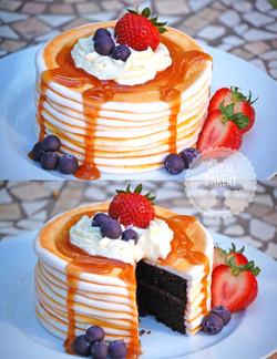 Pancake Lover's Groom's Cake