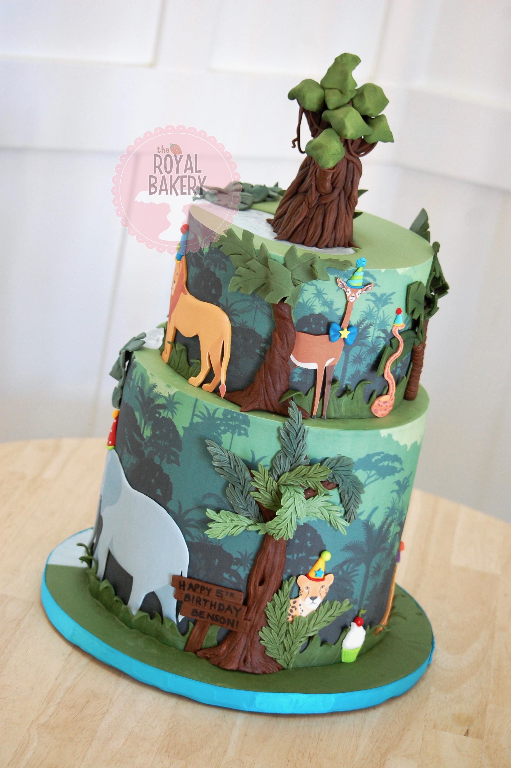 Party Animals Cake