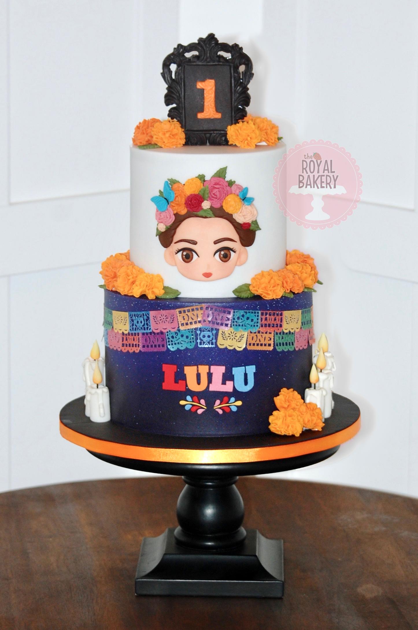Coco Frida Khalo Cake
