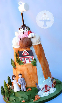 Favorite Things Groom's Cake
