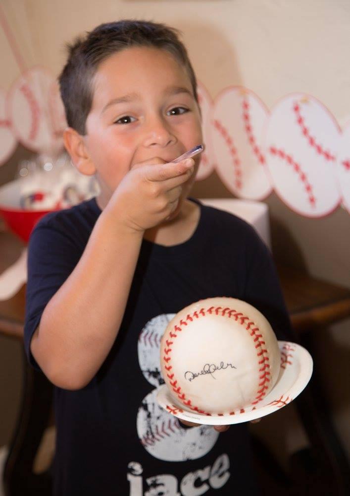 Tasty baseball!