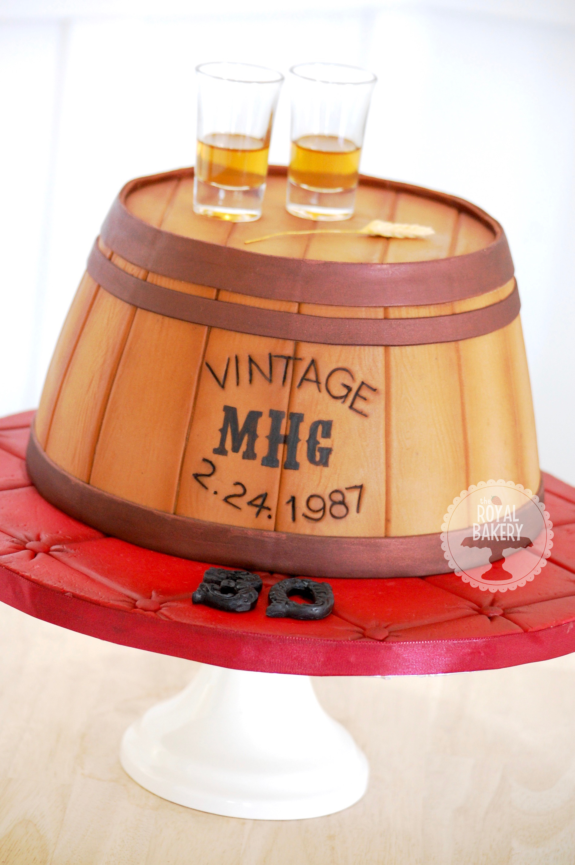 Speakeasy Whisky Cake