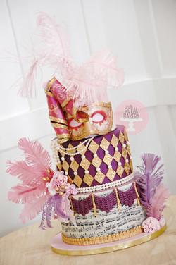 Venetian Anniversary Cake