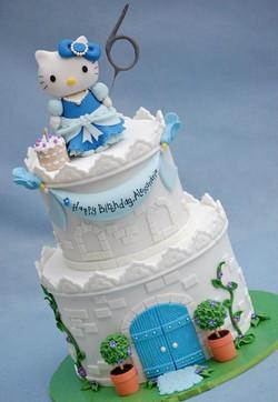 Mini Castle Cake