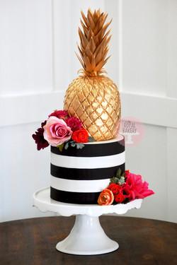 Gold Pineapple Cake