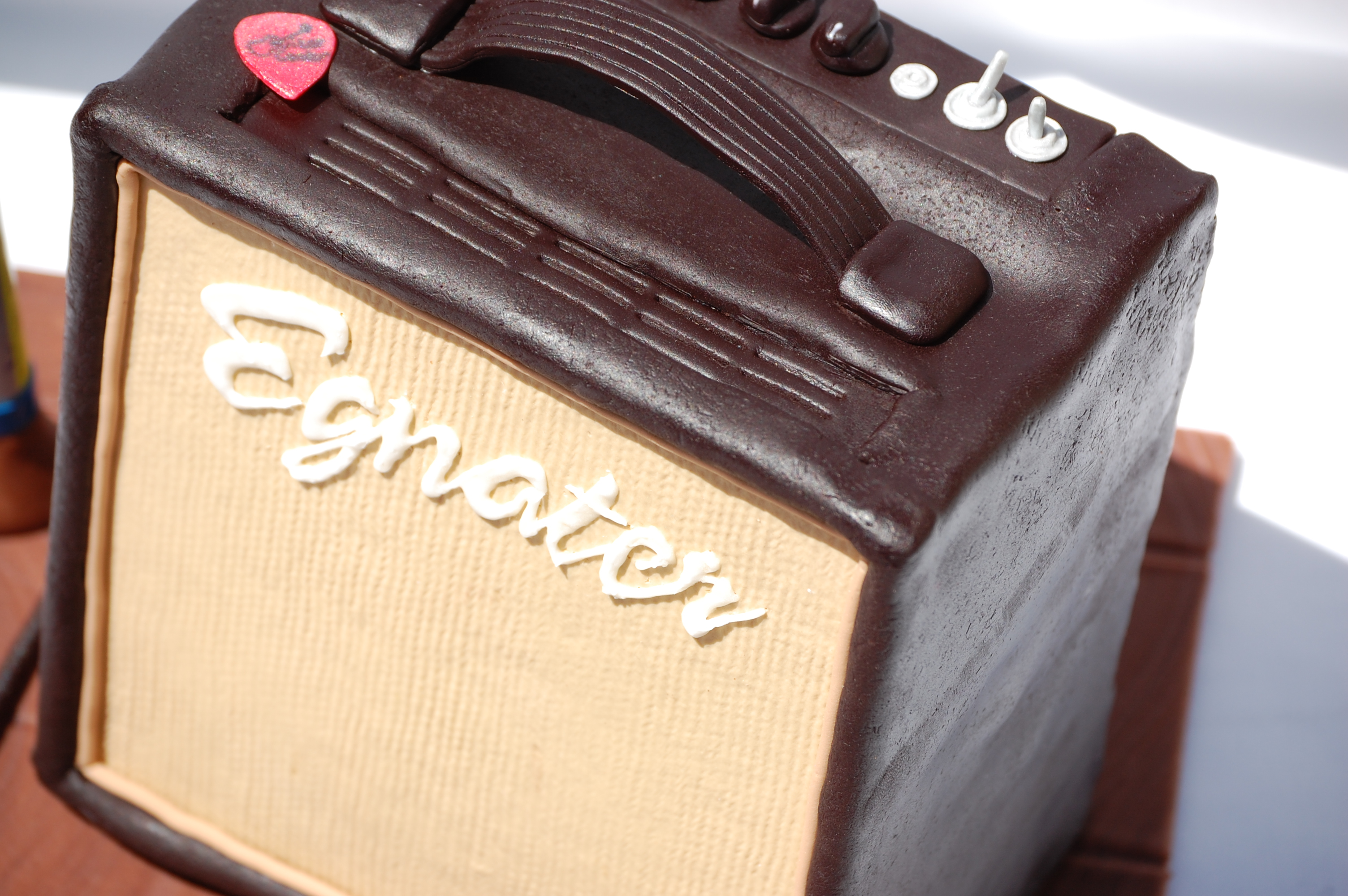 Amplifier Groom's Cake
