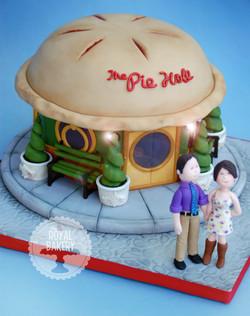 The Pie Hole TV Groom's Cake