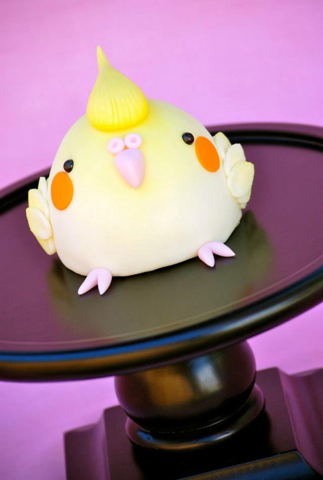 Fat Cockatiel Cake