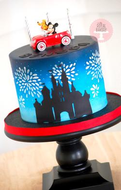 Disney Road Trip Cake