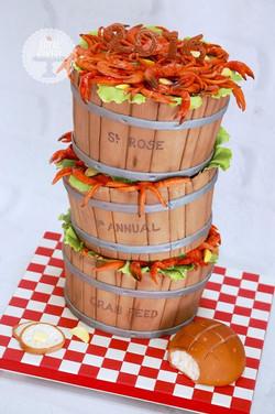 Crab Feed Fundraiser Cake