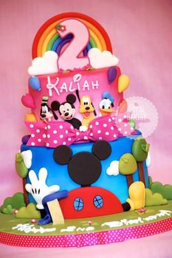 Mickey's Playhouse Cake