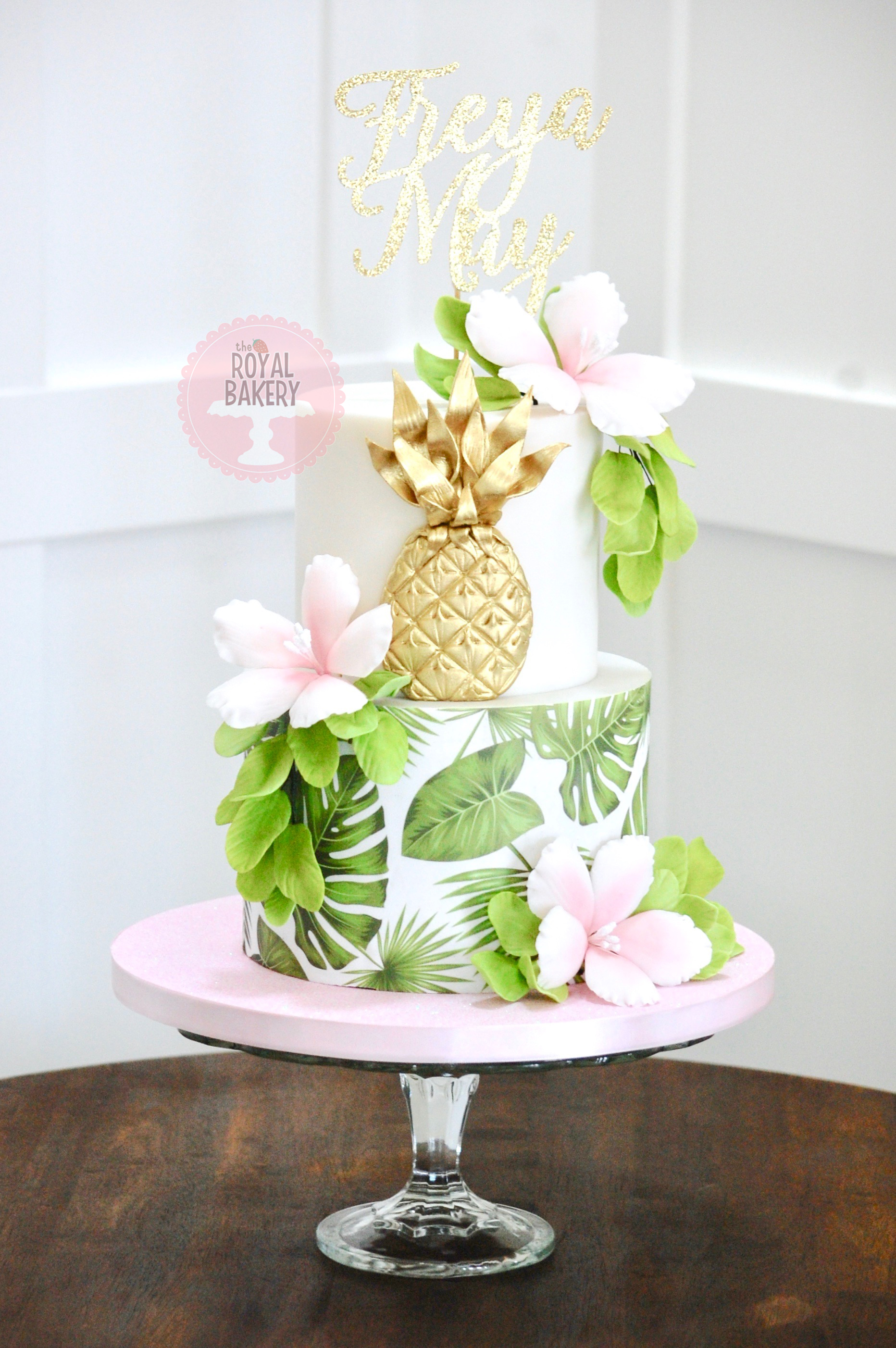 Tropical Pineapple Cake
