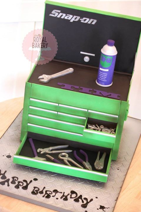 Snap-On Toolbox Cake