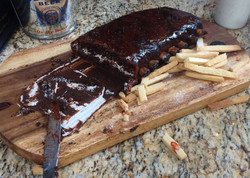 Cake, not ribs!