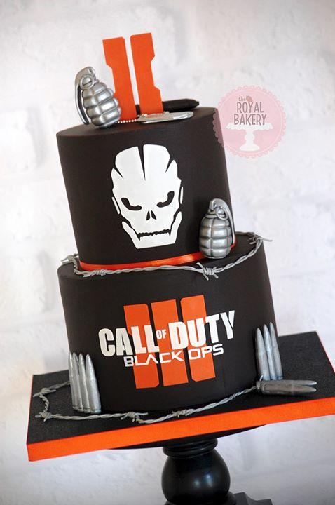 Call of Duty Black Ops III Cake