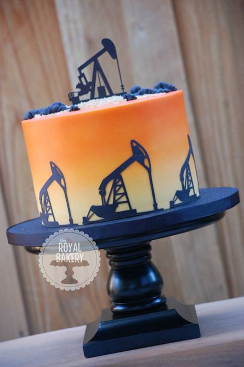 Oil Pump Groom's Cake