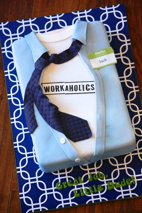 Workaholics Shirt Cake