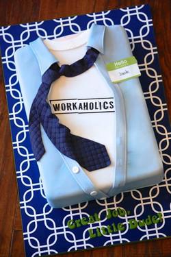 Workaholics Shirt Cake