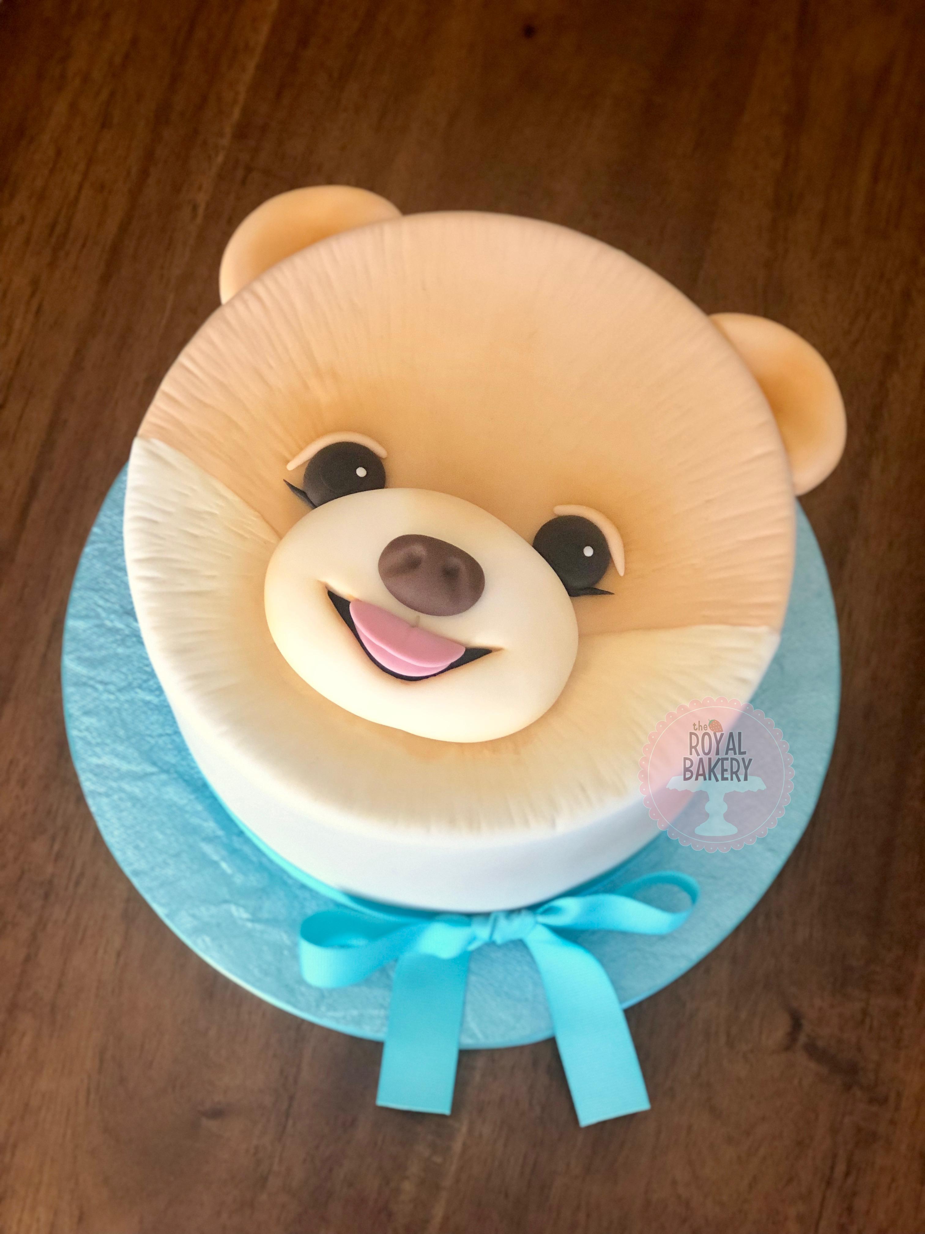 Boo the Dog Cake