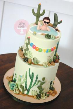 Desert Vibes Cake