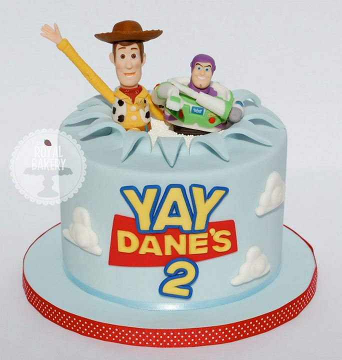 Woody and Buzz Toy Story Cake