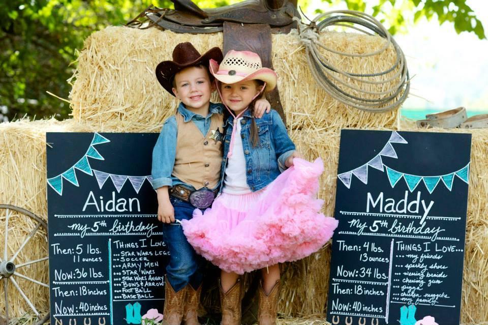 Cowboy twins!