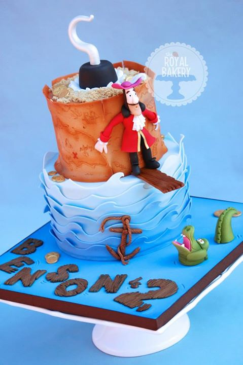 Hook and Croc Cake