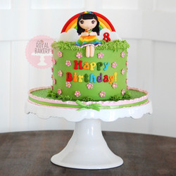 Rainbow Girl Cake