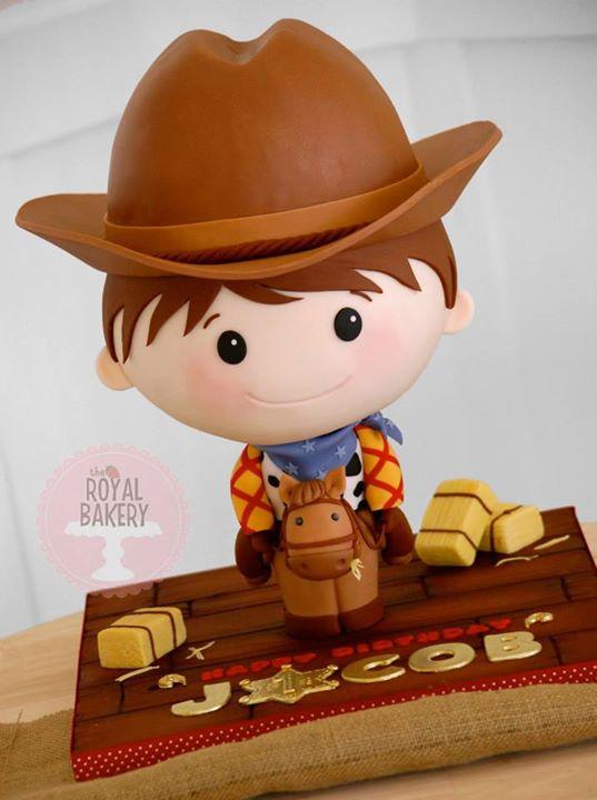 Cowboy Bobblehead Cake