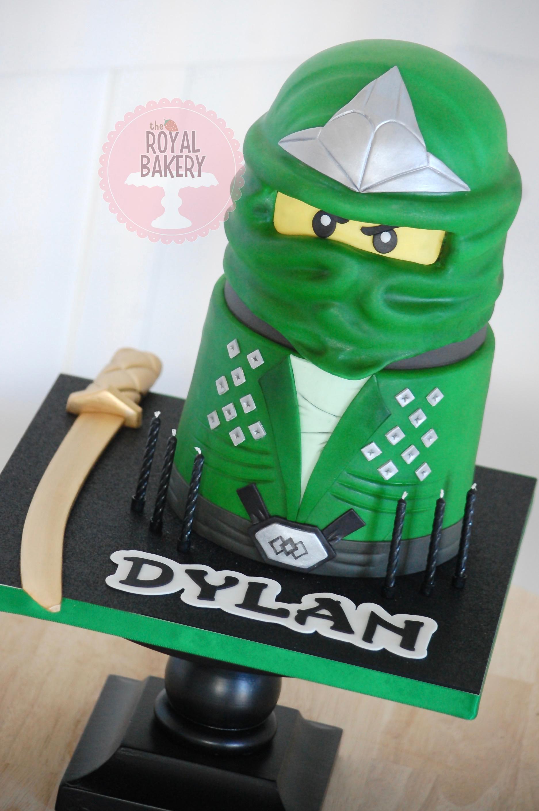 Green Ninjago Cake