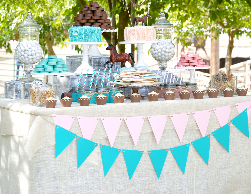 Prettiest dessert table