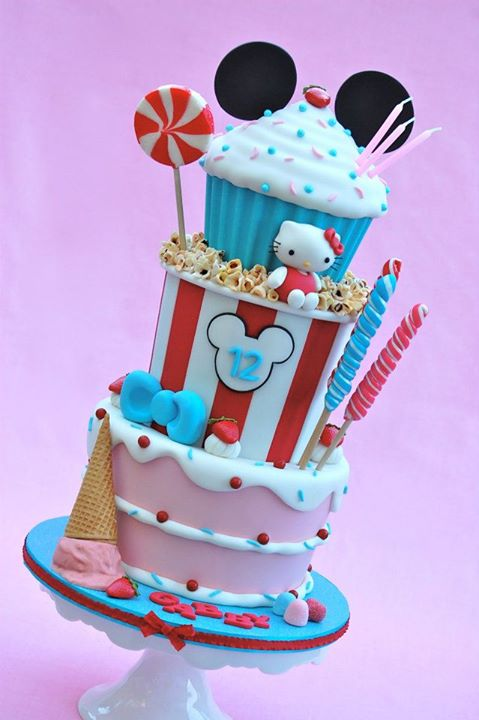 Popcorn, Candy and Cake!