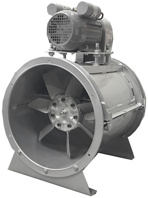 Paint Booth Axial Exhaust Fans : Single phase axial fan spray booth dust fume