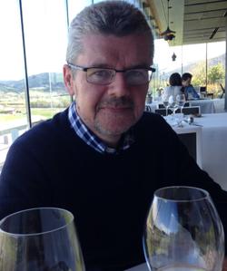 Peter at Azurmendi