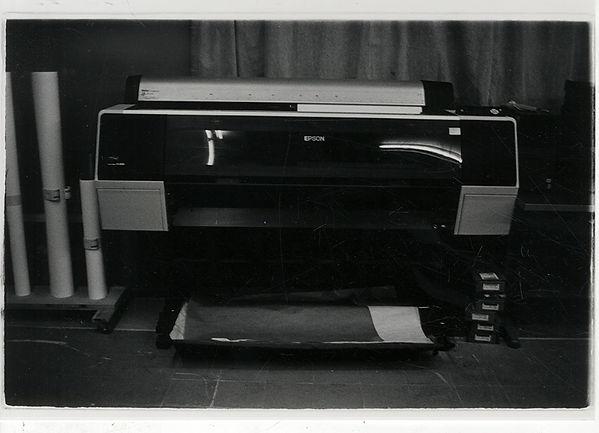 תמר לוינסון, מדפסת Epson, 2014 , צילום ב