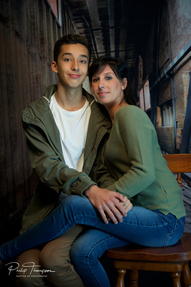 Mother & Son Shoot