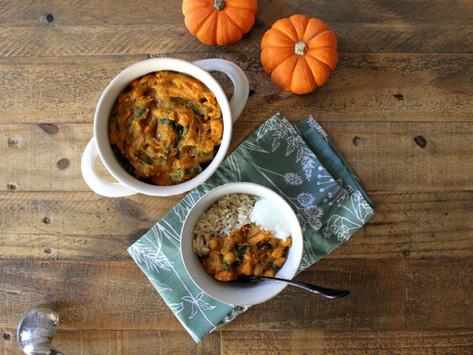 One Pot, No Fuss, Cozy Pumpkin Curry