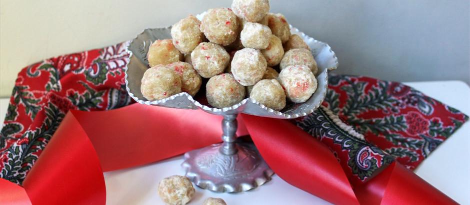 Santa-Kissed Cherry Laddus