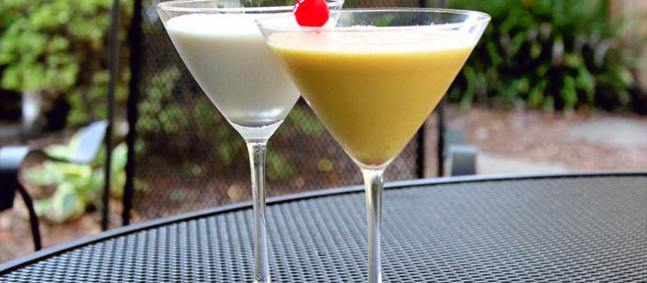 Three easy cocktails using mango juice